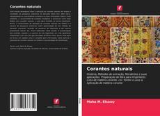Capa do livro de Corantes naturais
