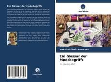 Capa do livro de Ein Glossar der Modebegriffe
