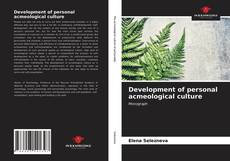 Bookcover of Development of personal acmeological culture