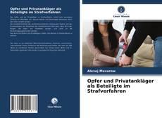 Borítókép a  Opfer und Privatankläger als Beteiligte im Strafverfahren - hoz