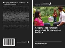 Bookcover of Acogimiento familiar: problemas de regulación jurídica