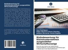 Portada del libro de Risikobewertung für Kleinstunternehmen ausgewählter Wirtschaftszweige