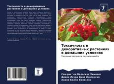 Buchcover von Токсичность в декоративных растениях в домашних условиях