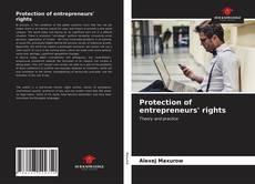 Protection of entrepreneurs' rights kitap kapağı