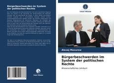 Portada del libro de Bürgerbeschwerden im System der politischen Rechte