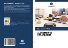 Buchcover von ALLGEMEINES STRAFRECHT