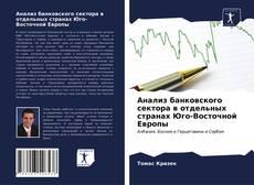 Buchcover von Анализ банковского сектора в отдельных странах Юго-Восточной Европы