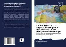 Геологическое картирование района Матомб-Мак (юго-центральный Камерун) kitap kapağı