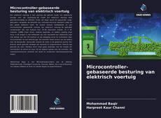 Capa do livro de Microcontroller-gebaseerde besturing van elektrisch voertuig