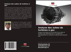 Bookcover of Analyse des aubes de turbines à gaz