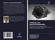 Couverture de Analyse van gasturbinebladen
