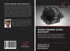Bookcover of Analiza łopatek turbin gazowych