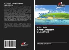Buchcover von BASI DEL CAMBIAMENTO CLIMATICO