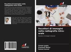 Portada del libro de Recettori di immagini nella radiografia intra-orale
