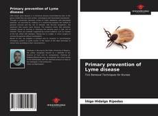 Buchcover von Primary prevention of Lyme disease