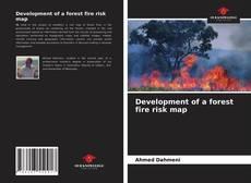 Buchcover von Development of a forest fire risk map