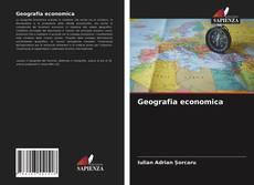 Copertina di Geografia economica