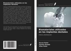 Portada del libro de Biomateriales utilizados en los implantes dentales
