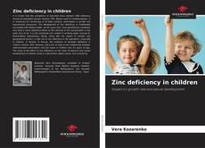 Bookcover of Zinc deficiency in children