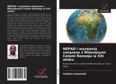 Bookcover of NEPAD i wyzwania związane z Milenijnymi Celami Rozwoju w XXI wieku