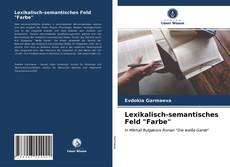 "Copertina di Lexikalisch-semantisches Feld ""Farbe"""