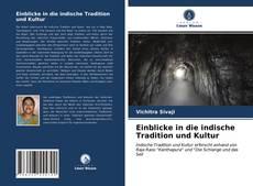 Copertina di Einblicke in die indische Tradition und Kultur