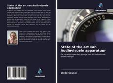 Bookcover of State of the art van Audiovisuele apparatuur