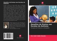 Portada del libro de Desafios do Ensino nas Escolas do Autismo