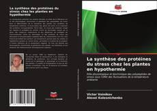 Bookcover of La synthèse des protéines du stress chez les plantes en hypothermie