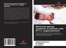 Borítókép a  Nocturnal apnoea syndrome in patients with IV F.C. angina pectoris - hoz