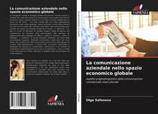 Capa do livro de La comunicazione aziendale nello spazio economico globale