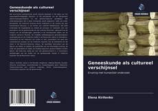 Geneeskunde als cultureel verschijnsel kitap kapağı