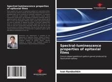 Capa do livro de Spectral-luminescence properties of epitaxial films
