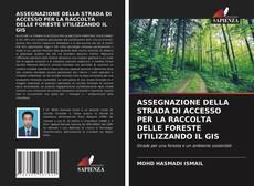 Capa do livro de ASSEGNAZIONE DELLA STRADA DI ACCESSO PER LA RACCOLTA DELLE FORESTE UTILIZZANDO IL GIS
