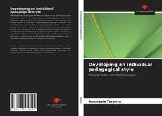 Developing an individual pedagogical style的封面