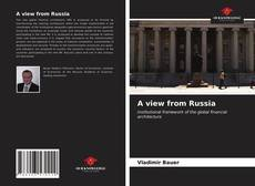 Bookcover of A view from Russia