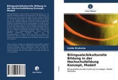 Bilinguale/bikulturelle Bildung in der Hochschulbildung Konzept, Modell kitap kapağı