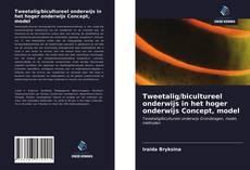 Borítókép a  Tweetalig/bicultureel onderwijs in het hoger onderwijs Concept, model - hoz