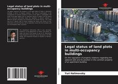 Bookcover of Legal status of land plots in multi-occupancy buildings