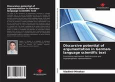 Bookcover of Discursive potential of argumentation in German-language scientific text