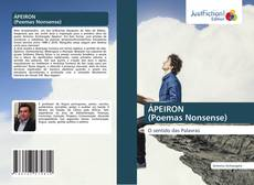 Couverture de ÁPEIRON (Poemas Nonsense)
