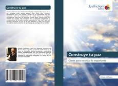 Bookcover of Construye tu paz