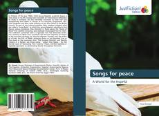 Bookcover of Songs for peace