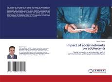 Couverture de Impact of social networks on adolescents