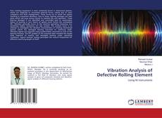 Capa do livro de Vibration Analysis of Defective Rolling Element