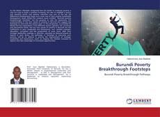 Bookcover of Burundi Poverty Breakthrough Footsteps