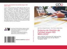 Bookcover of Sistema de Gestión de Calidad según ISO 9001:2015