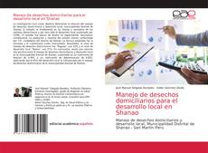 Обложка Manejo de desechos domiciliarios para el desarrollo local en Shanao