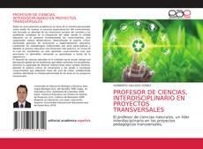 Portada del libro de PROFESOR DE CIENCIAS, INTERDISCIPLINARIO EN PROYECTOS TRANSVERSALES
