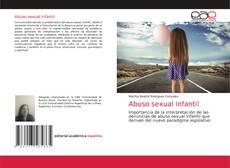 Capa do livro de Abuso sexual infantil